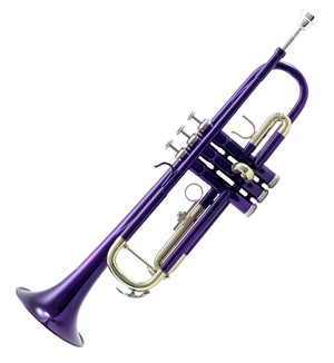 Sky Band Approved Purple Lacquer Plated Brass Bb Trumpet Guarantee Top Quality Sound