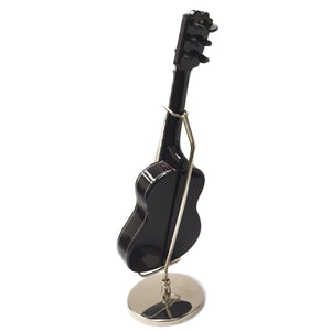 Sky New Mini Guitar Classic Natural Finish Acoustic Miniature Guitar on Stand