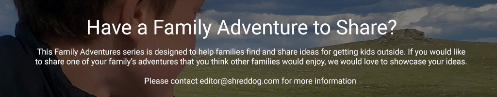 Shred Dog Family Adventures footer