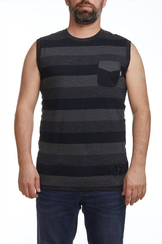 Striped camisole with pocket