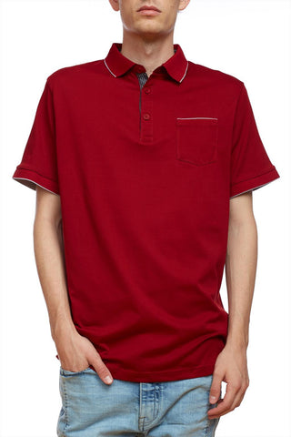 Short sleeves 1 pocket polo