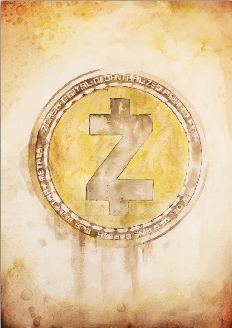 Zcash limited edition print