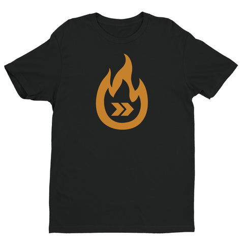Burn Your Plans clear burnt logo T-shirt