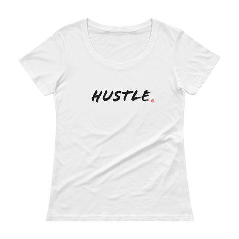 The DO Hustle light ladies tee