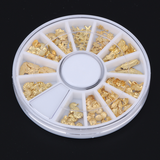 Gold Decal Wheel - Luxury Beauty