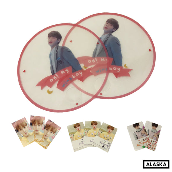 [READY STOCK] Park Jihoon Transparent Fan @jihunfan_