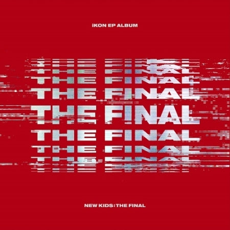 [READY STOCK] IKON - NEW KIDS: THE FINAL (EP) RED OUT VER.