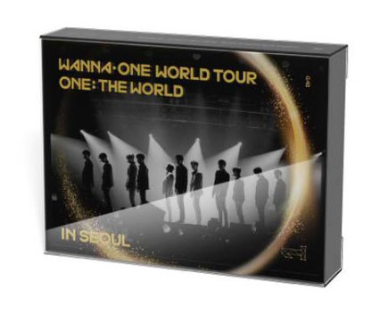[READY STOCK] WANNA ONE - Wanna One World Tour [ONE: THE WORLD] in Seoul KHINO VIDEO