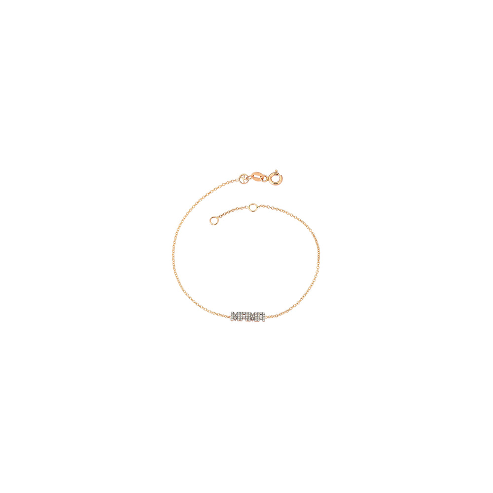 MAMA Bracelet - White Diamond