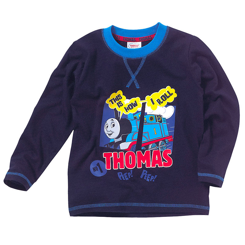 Thomas & Friends This Is How I Roll Long Sleeve T-Shirt Top
