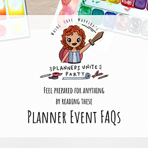 Planner Event FAQs