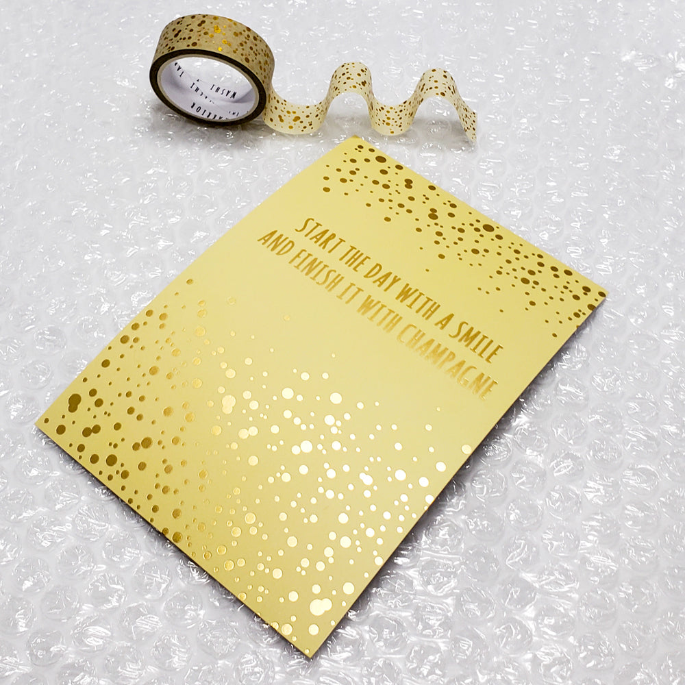 Bubbly Journal Card