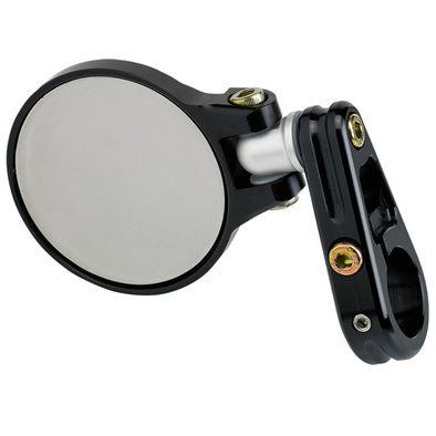 2-1/4 Folding Bar End Mirror Black
