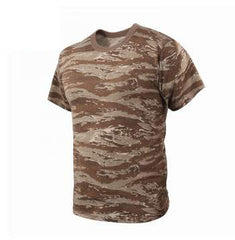 Rothco Camouflage T-Shirt Desert Tiger Stripe Camo (61090) / T-Shirts - Iceberg Army Navy