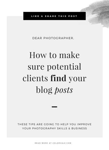 How to make sure potential clients find your blog posts