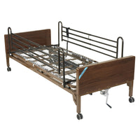 Delta Ultra Light Full Electric Low Hospital Bed with Full Rails - Discount Homecare & Mobility Products