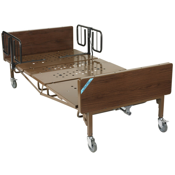 Full Electric Super Heavy Duty Bariatric Hospital Bed with 1 Set of T Rails - Discount Homecare & Mobility Products