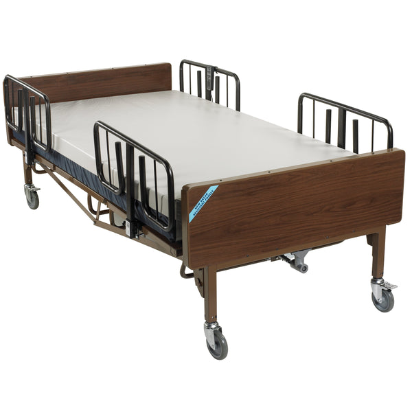 Full Electric Super Heavy Duty Bariatric Hospital Bed with Mattress and 1 Set of T Rails - Discount Homecare & Mobility Products