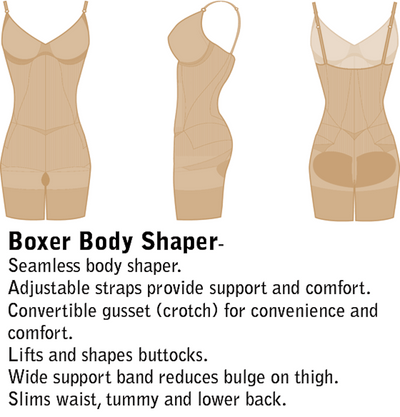 Julie France Boxer Body Shaper JF002