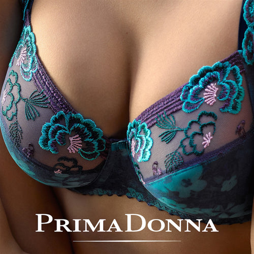 Prima Donna Madame Butterfly Full Cup Bra - Ocean