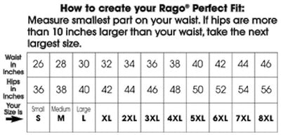 Rago Shapette Extra Firm Shaping Girdle Waist Cincher 821 - White