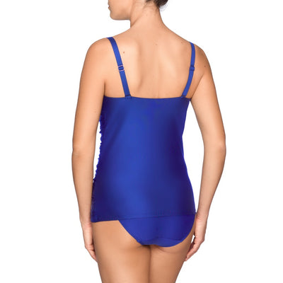 Prima Donna Cocktail Tankini Top - Skyfall Blue