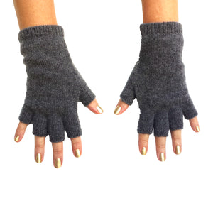 Cashmere Fingerless Gloves, - Funky Collective