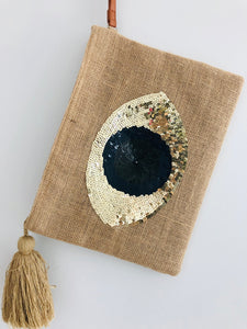 Evil Eye Pouch, - Funky Collective