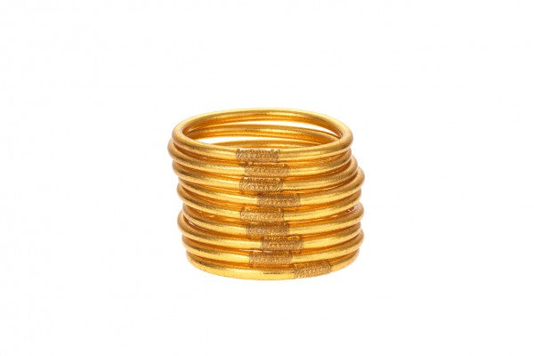 BUDHAGIRL All Weather Bangles - Gold, - Funky Collective