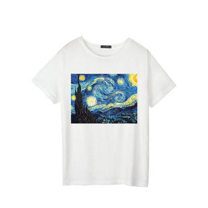 Oil Painting Casual Tee
