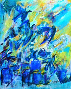 "When the birds soared- 20"" H X 16"" W"