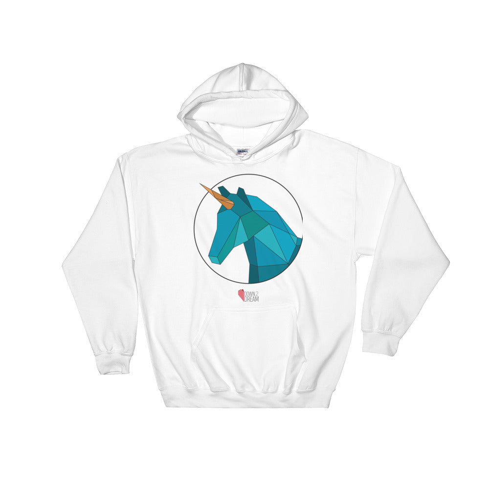 Blue Unicorn - Hooded Sweatshirt