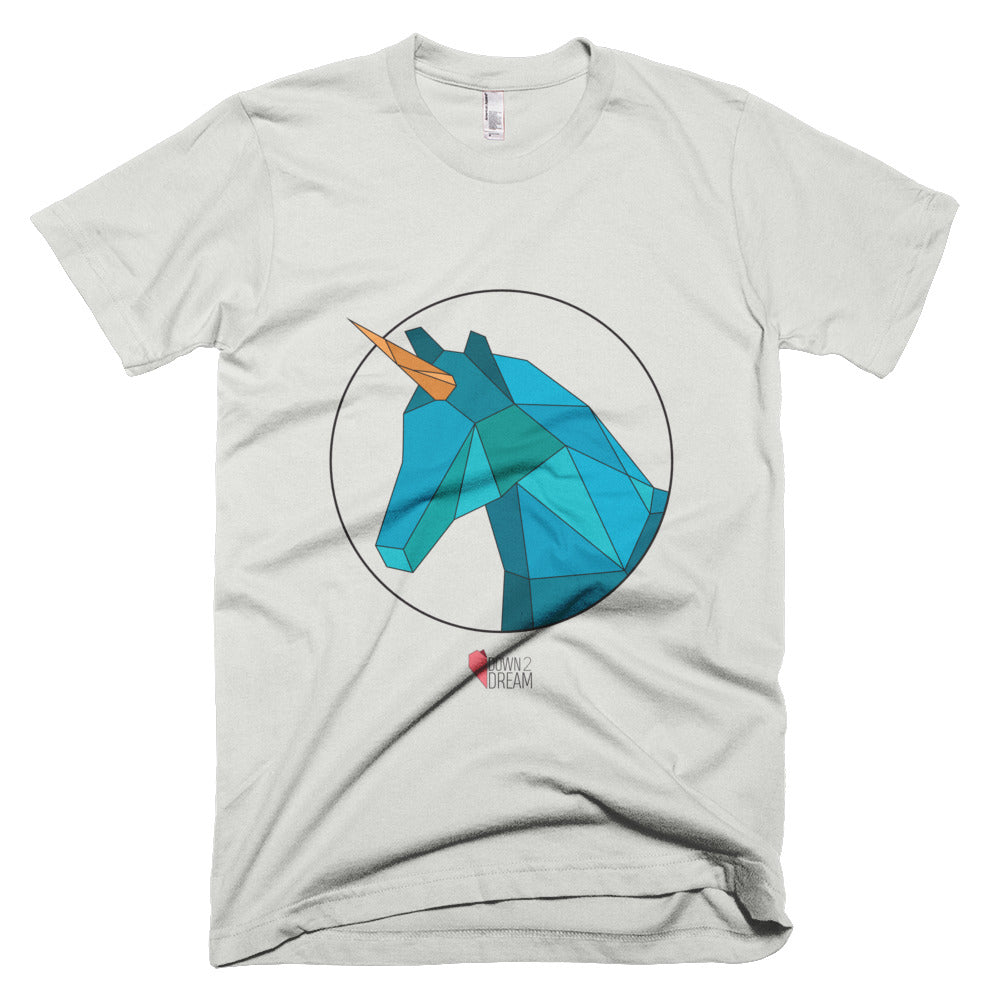 Blue Unicorn - Unisex / Men's T-Shirt