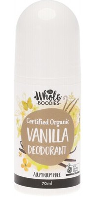 The Whole Boodies Roll-On Deodorant Vanilla - 70ml