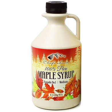 Chef's Choice 100% Pure Canadian Maple Syrup BULK 1L
