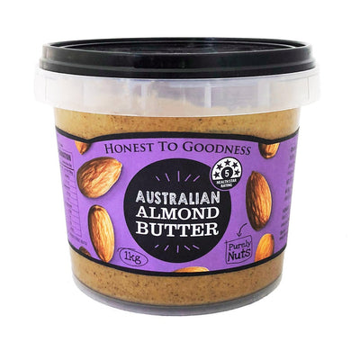 Honest to Goodness Natural Almond Butter 1kg