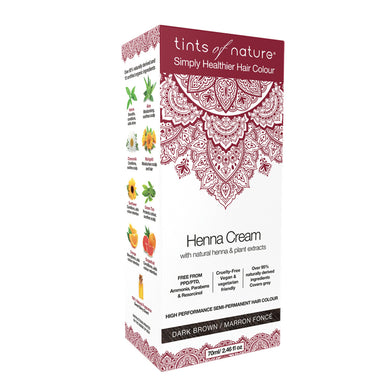 Tints of Nature Henna Cream Dark Brown 70ml