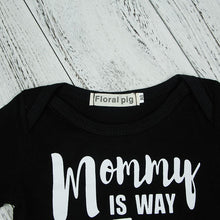 Mommy is way more fun - baby romper - Romper - Bentyz