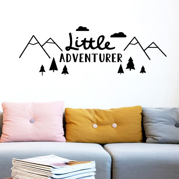 Little adventurer wall sticker - Accessories - Bentyz