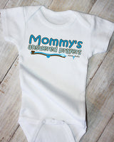 Faith Baby Christian Clothing Gifts | Mommy's Answered Prayers Baby Boy Christian Onesie