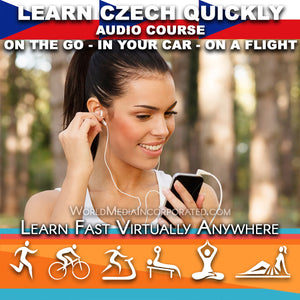 Learn Czech: Fastest way (1 hour course) - Audio Download (Fast instant delivery)