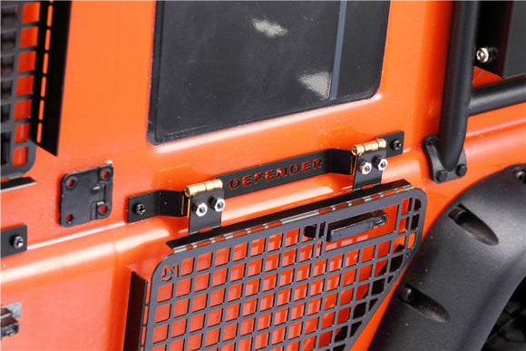 DJ TRAXXAS TRX4 D90 D110 OPENABLE METAL MESH DOOR PROTECTOR WINDOW PROTECTOR LAND ROVER DEFENDER DJC-0620