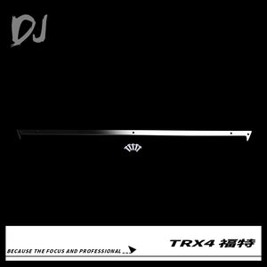 DC-DJ RC 1:10 Metal Stainless Steel Roof Decorative Strip For TRAXXAS TRX-4 FORD BRONCO DJX-1037 (1PCS)