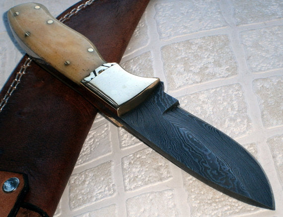 BC- T- 045 Custom Handmade Damascus Steel Knife- Beautiful Crafted Knife