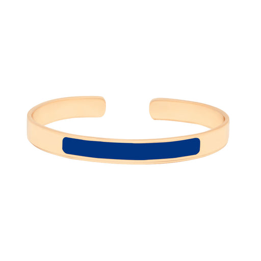 LUNE CUFFS <BR> CERAMIC BLUE