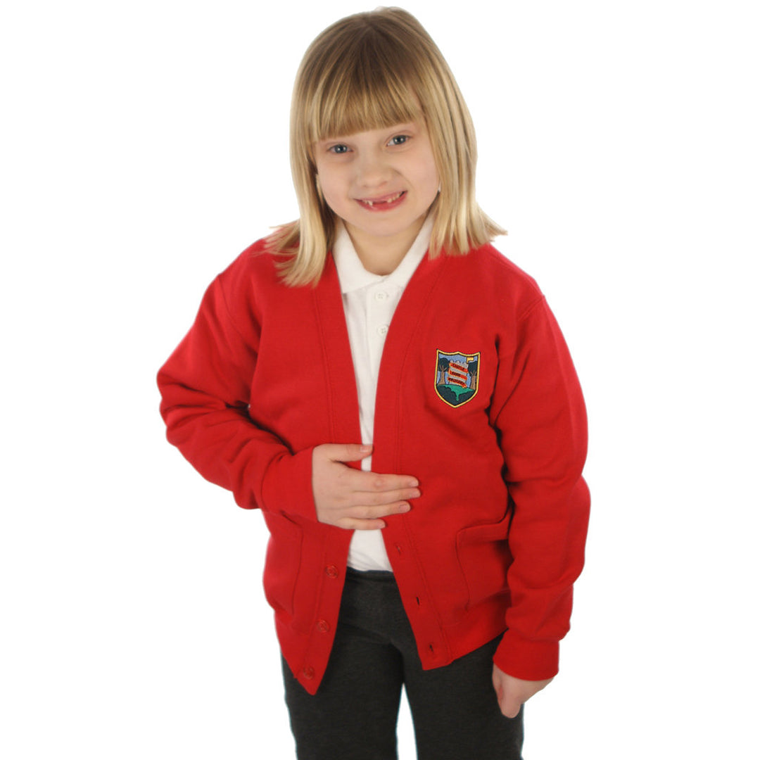 Castle Park School Cardigan with Logo