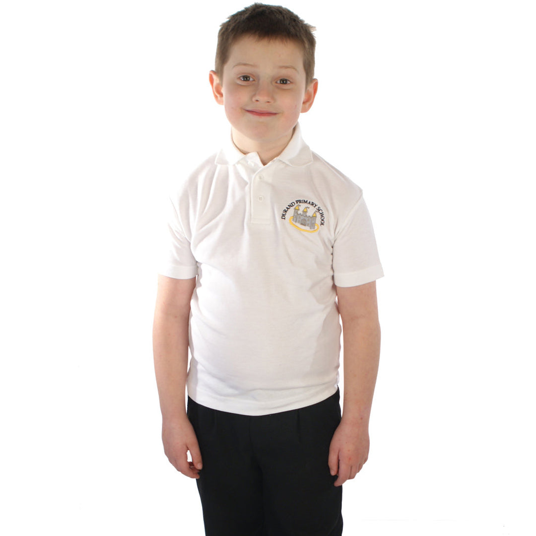 Durand School Polo Shirt with Logo