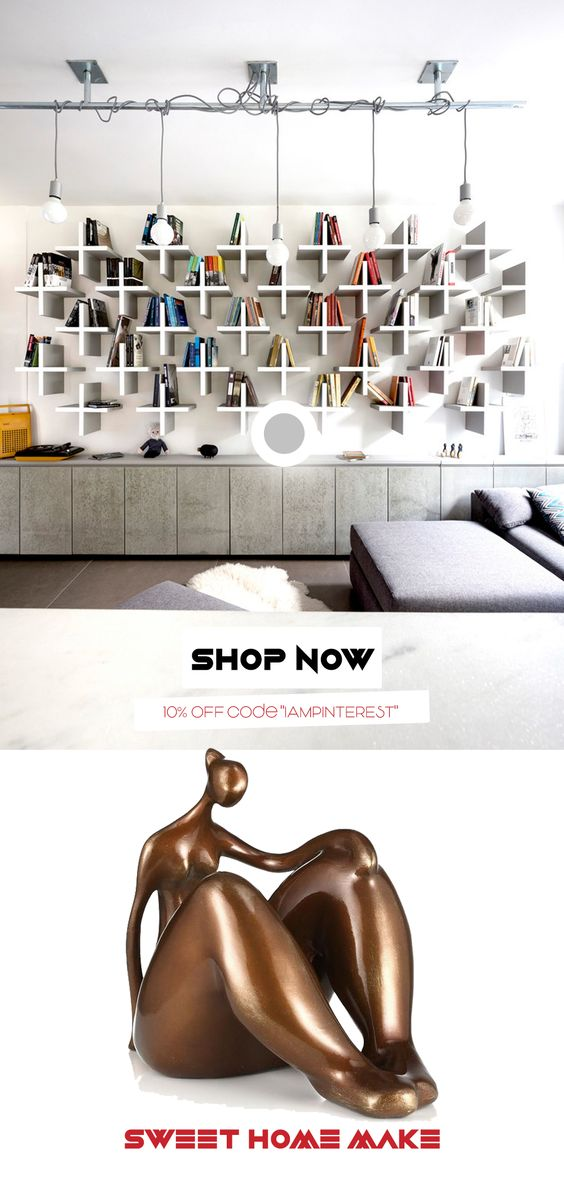 Contemporary Bookcase Decor Yoga Pose Inspiration and Gift for Yoga Lovers