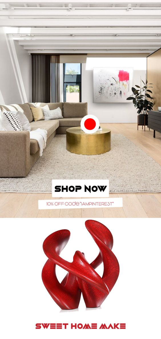 Living Room Gold Coffee Tables Modern Decor