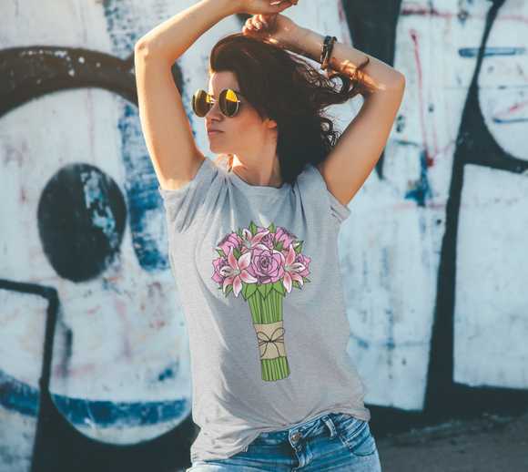 Bouquet of Flowers Unisex Tee